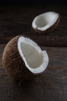 Coconut, Brown, Food, Ingredient