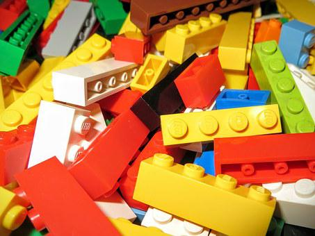 Lego, Multicolor, Bricks, Game, Children