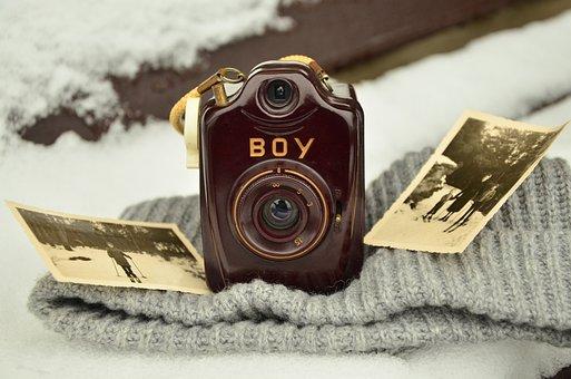 Caméra, Vieux, Antique, Photographie