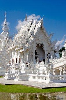 Wat Rong Khun, Temple, Thailand