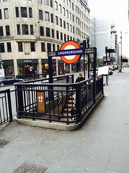 Underground London Transport Subway Statio