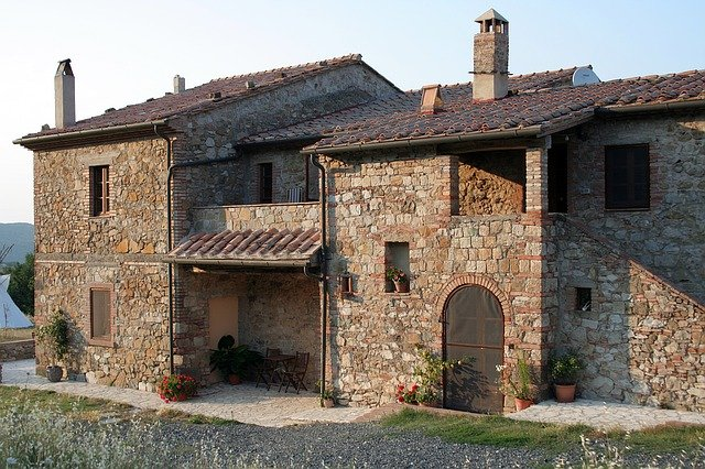 Free photo house italy old stone house free image on for Classic italian house