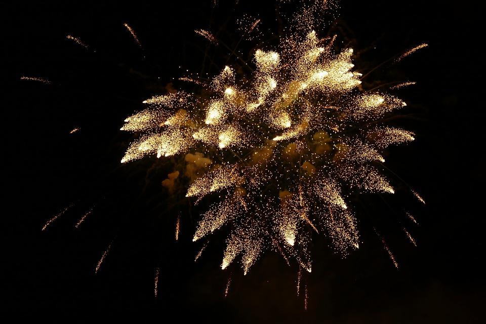 Новый Год, Фейерверк, Первый День Нового Года
