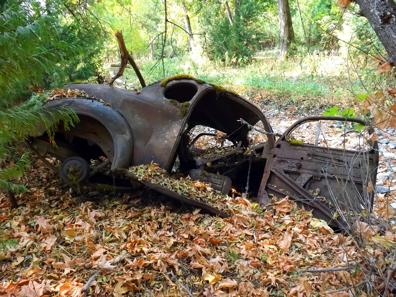 Car Abandoned Rusted - Free photo on Pixabay