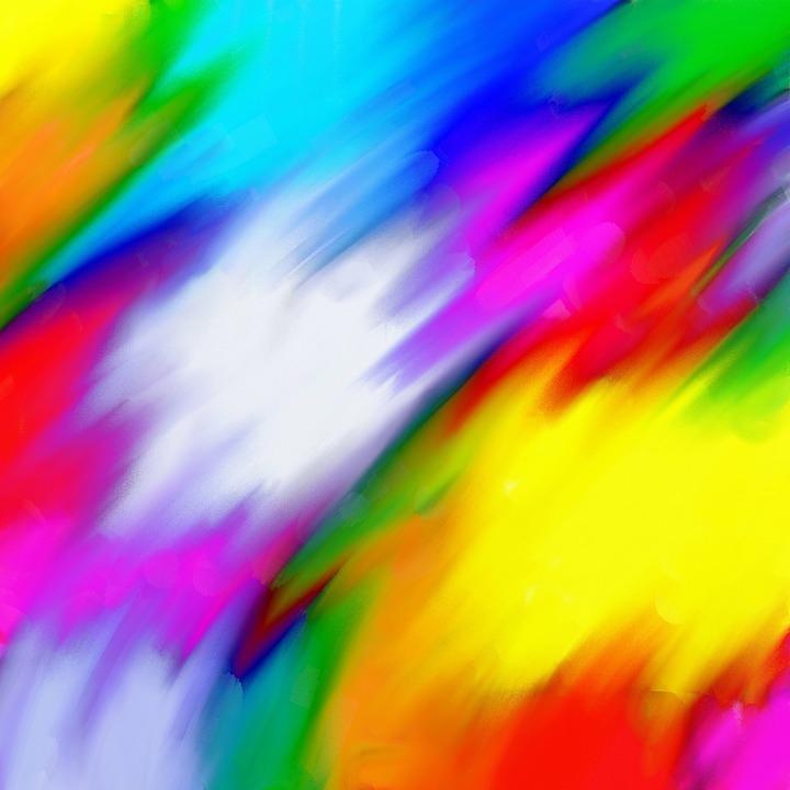 Illustration Gratuite: Texture, Peinture, Couleurs, Design - Image