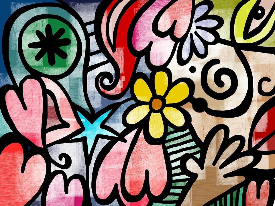 Art Design On Line : Free illustration modern art texture design
