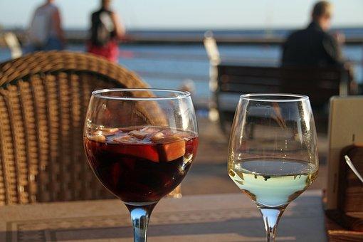 Wine Sangria Drink Canary Island Gran Cana