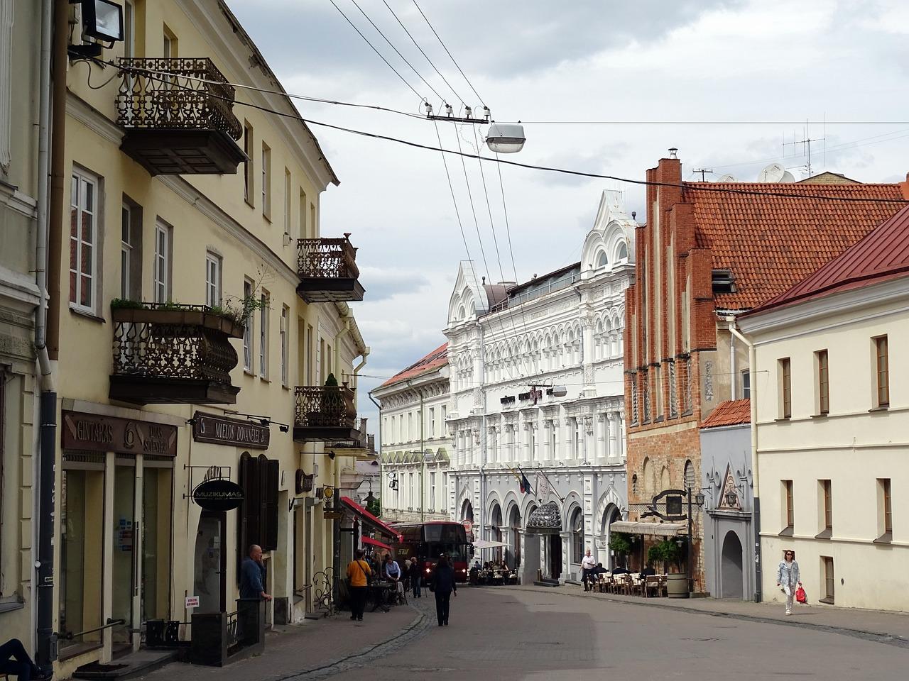 Улицы вильнюса высокое качество фото