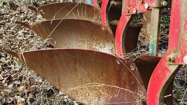 Plough Agriculture Machine Old Stainless R