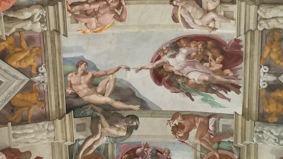 Sistina, Capela, Vaticano, Michelangelo, Museu, Roma
