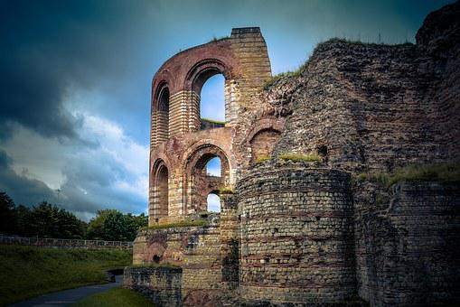 Trier, Ruin, Old, Historically, History