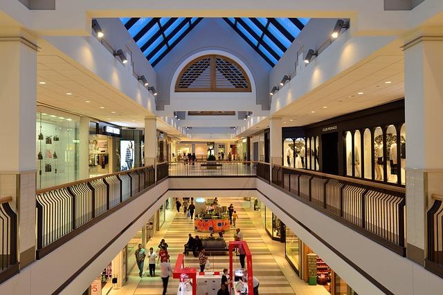 Free Photo Shopping Mall Atrium Retail Free Image On