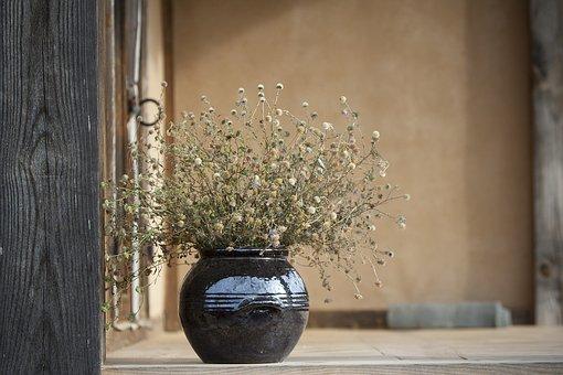 静物, ただ, オリエンタル, まだ生命, 陶磁器, 花, 相続財産