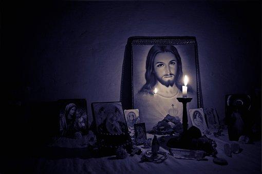 Jesus, Altar, Light, Faith, Holy, Christ