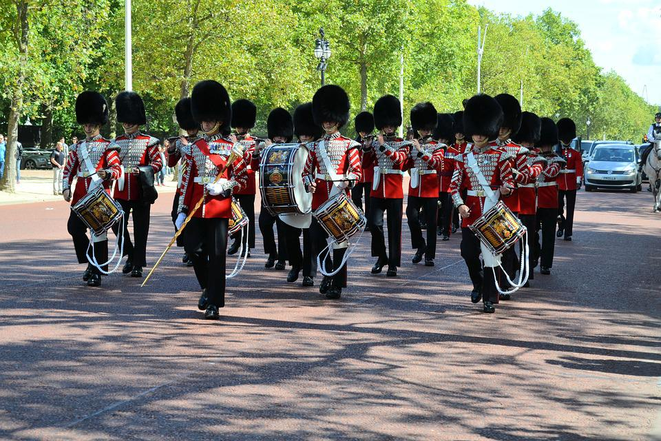 London, Guard, Orchestra, England, Music Band