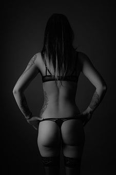 Body, Body Part, Woman, Lingerie, Butt
