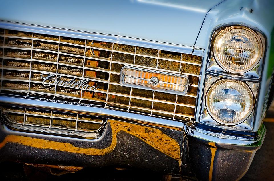 ヘッドライト, グリル, ホットロッド, 筋肉の車, ベビーブルー, 青, カスタム ペイント, 塗装