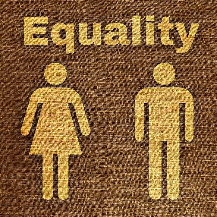 Kostenlose Illustration Mann Frau Gleichberechtigung