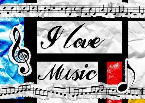 Music, Love, Appreciation, Notes