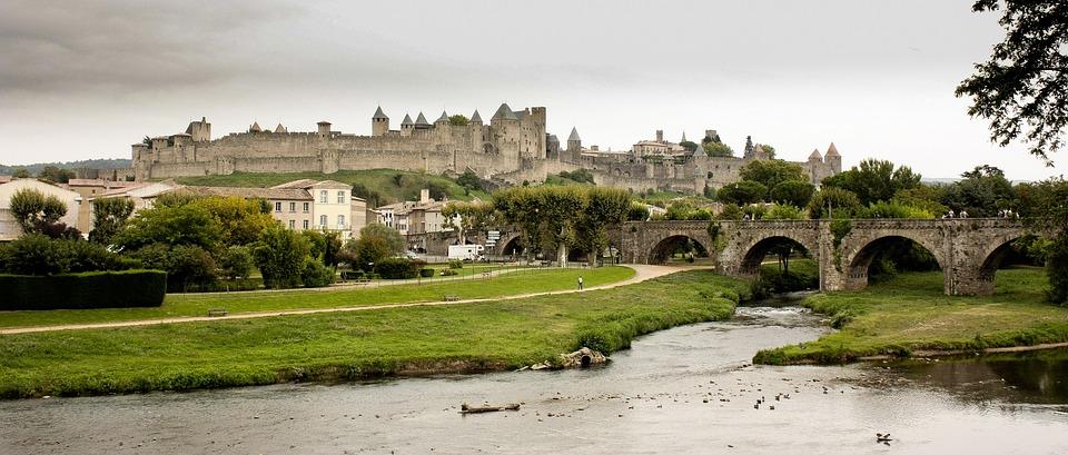 Carcassonne, France, Castle