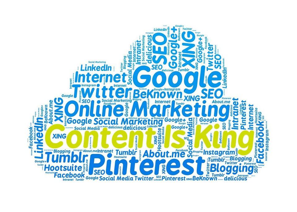 เนื้อหาเป็นพระมหากษัตริย์, การตลาดออนไลน์, Google