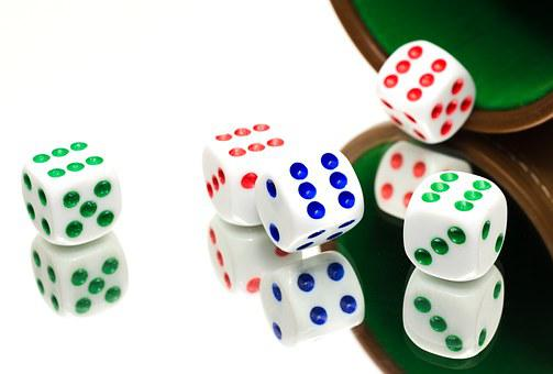 Yahtzee, Dice, Luck, Game, Throwing, Fun