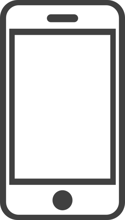 Smartphone Mobile Phone Free Vector Graphic On Pixabay