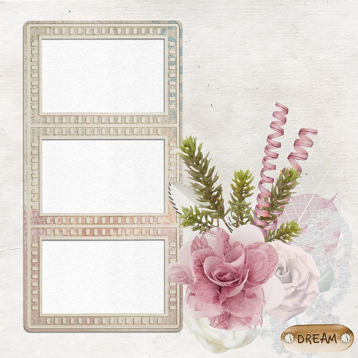 Free Illustration Frame Background Scrapbook Page