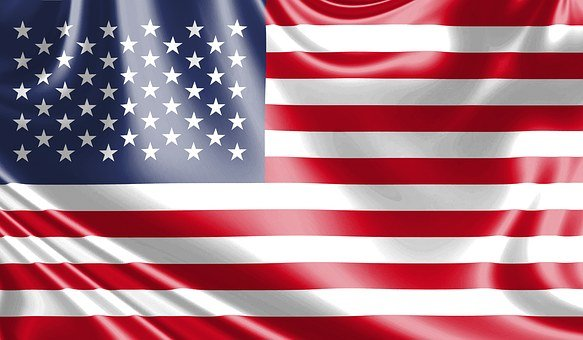Usa Flag Flag In The Wind American Flag St