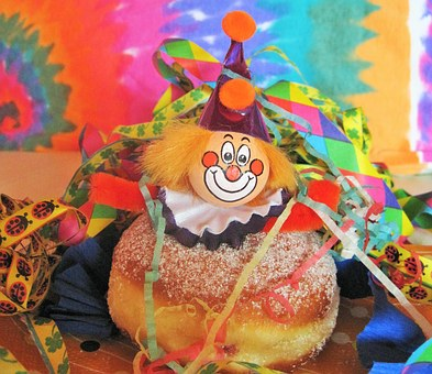 Karneval-Berliner, Karneval-Clown