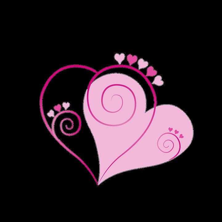 Valentinstag, Valentinstag Karte, Liebe, Rosa, Rot
