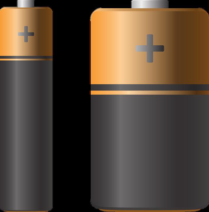 image vectorielle gratuite batterie pile aaa piles aa image gratuite sur pixabay 1135344. Black Bedroom Furniture Sets. Home Design Ideas
