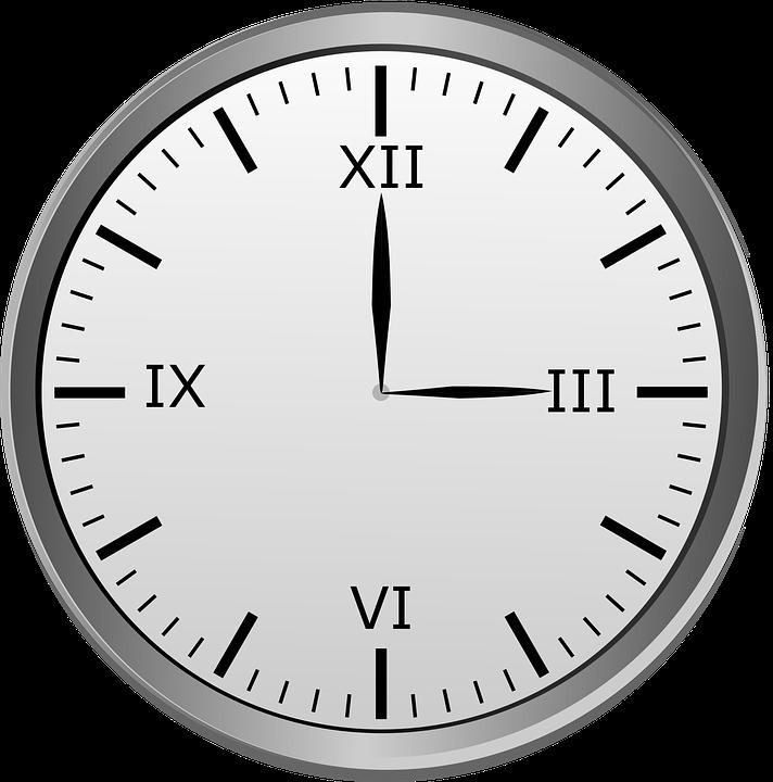 Clock Roman Numerals 3 Free Image On Pixabay - 3-roman-numerals-clocks