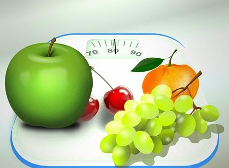 Dieta Nutrición Horizontales Báscula De Ba