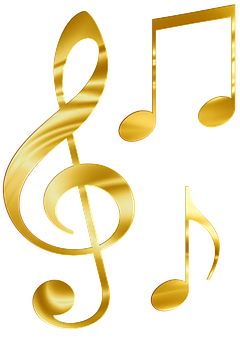 Sheet Music Gold Png Png Png Png Png