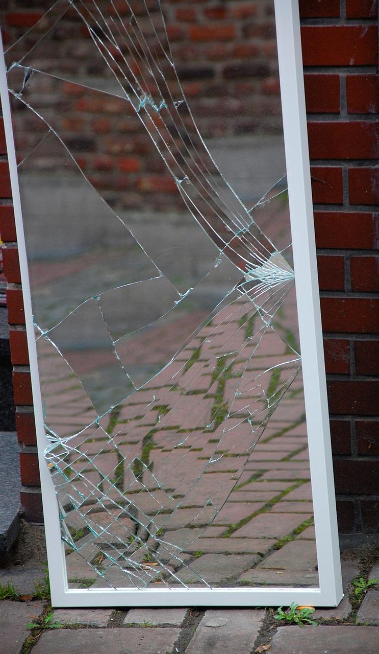 Mirror Broken Shard - Free photo on Pixabay