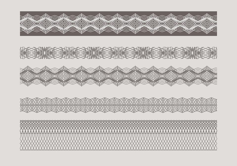 Guilloche Border Diploma · Free vector graphic on Pixabay