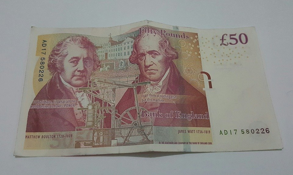 Money, Sterling, Pound, Currency, Cash, Wealth, Note
