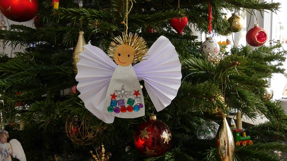 christmas christmas tree angel christmas decoration - Angel Christmas Tree