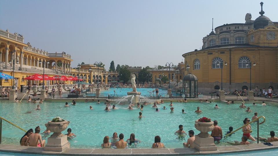 Baths Thermal Széchenyi · Free photo on Pixabay