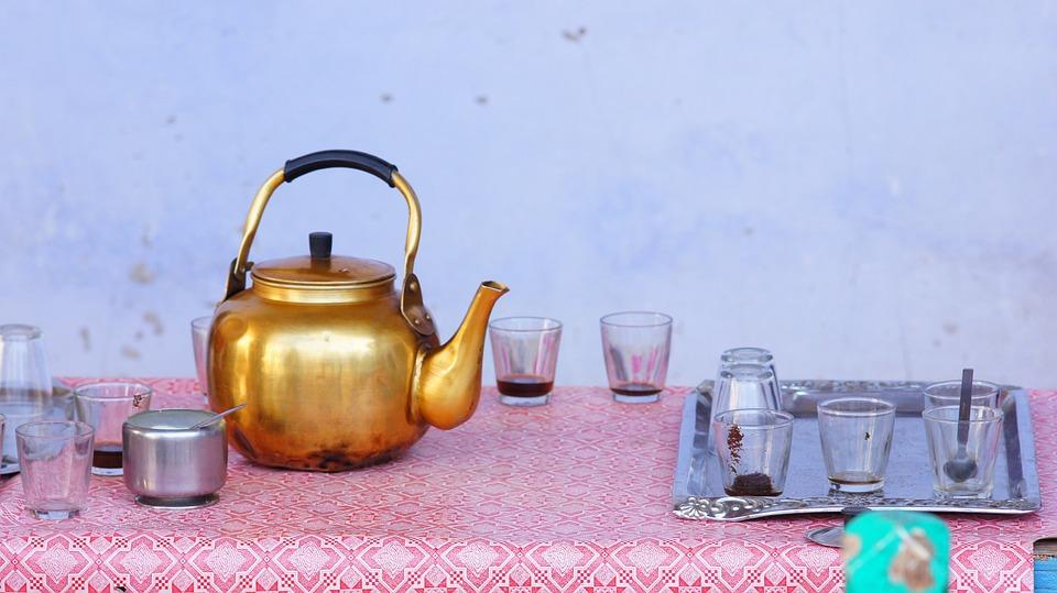 Teapot, Egypt, Tea, Drink, Pot, Egyptian, Old, Cup