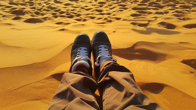 Free Photo Relax Peaceful Golden Sands Free Image On