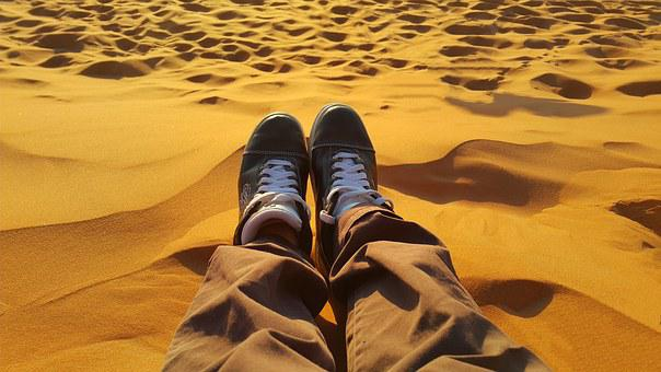Détendre, Pacifique, Sables D'Or, Sahara
