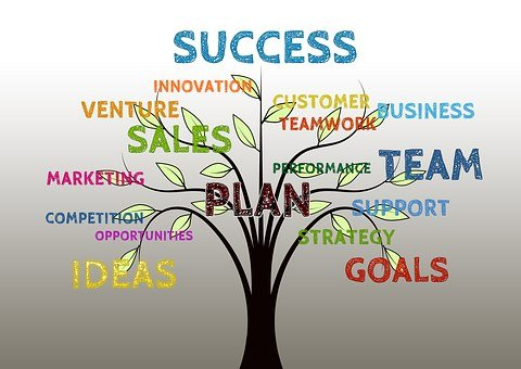 Business, Tree, Growth, Success, Team