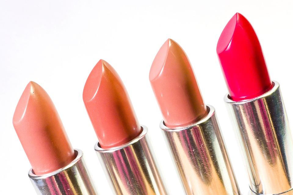 口紅, 化粧品, 顔, 美容, メイクアップ, ピンク, ファッション, エレガンス