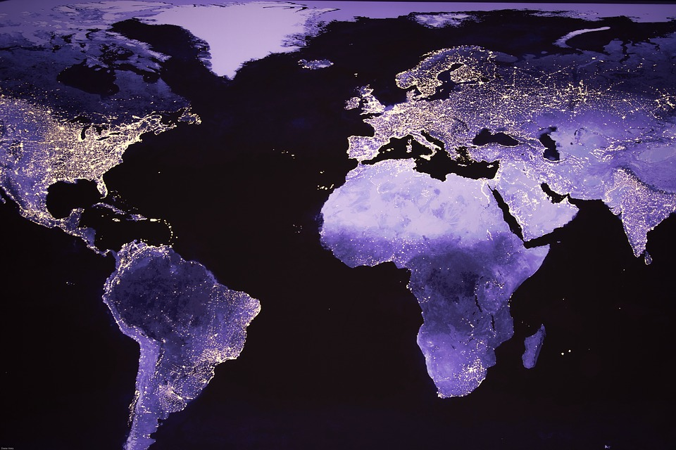 a map of africa with Monde Photo De Nuit Image Satellite 1138035 on Where Is Trento moreover Empangeni 20Town additionally Erta Ale Volcano Ethiopia furthermore Indian Ocean as well File Warwickshire in England.