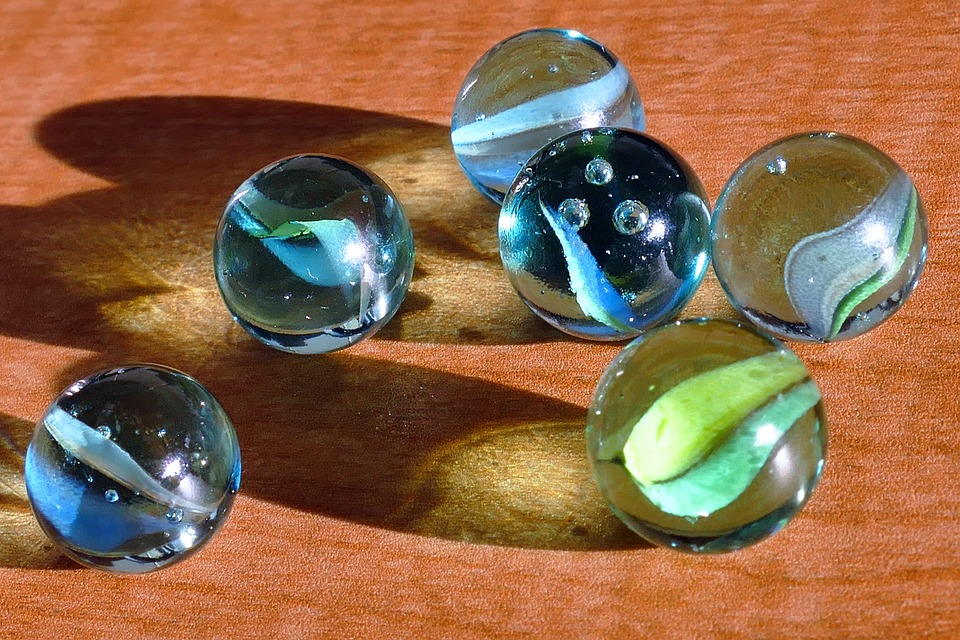 Glass Marbles Game : Free photo marbles glass toys games fun image