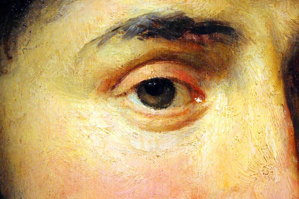 Peinture Dans L Oeil oeil le cadre peinture huile sur · photo gratuite sur pixabay