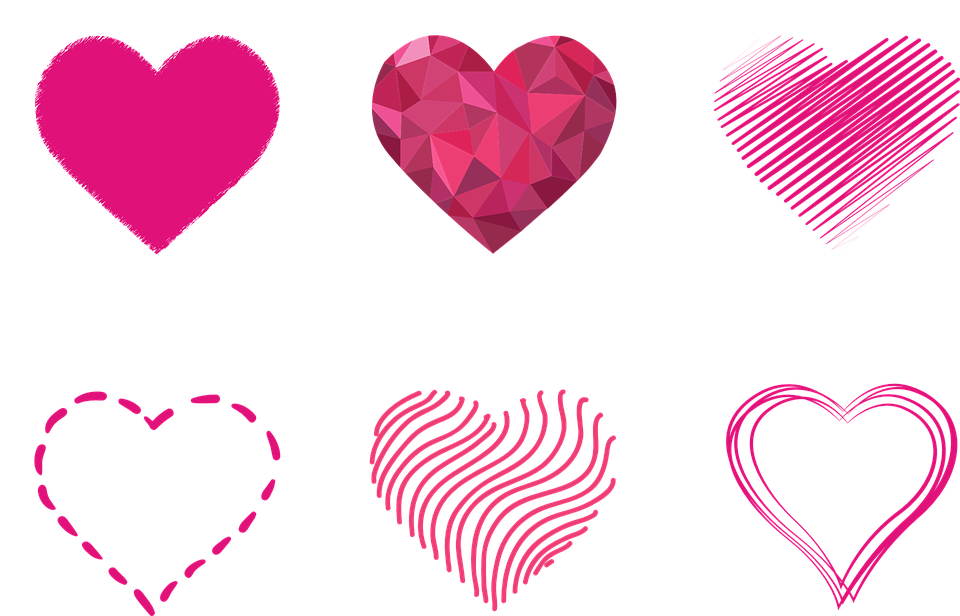 Heart Outlines Prism Free Vector Graphic On Pixabay