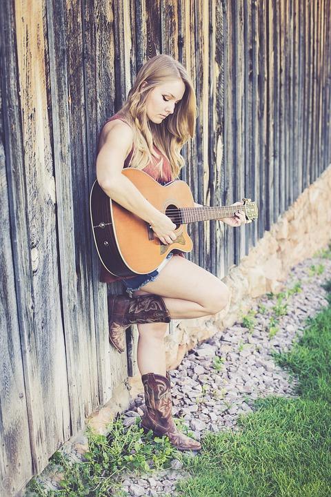 Guitar, Country, Music, Guitarist, Acoustic Guitar